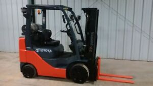 2011 Toyota Forklift- 5000LB Capacity- LOW HOURS!
