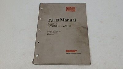 Prentice Hydro-ax 120 Parts Manual Ci267
