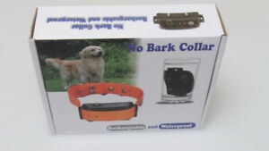 No Bark Collar-Waterproof Rechargeable- Dog Anti-Bark Collar-New