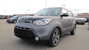 2015 Kia Soul SX LUXURY Navigation (GPS),  Leather,  A/C,
