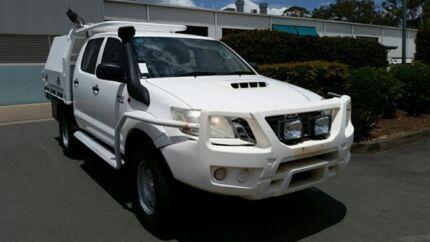 2013 Toyota Hilux KUN26R MY12 SR Double Cab Glacier 5 Speed Manual Utility Acacia Ridge Brisbane South West Preview