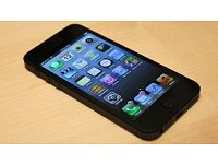 Iphone 5 Black 16GB VODAPHONE FULLY WORKINGPHONE ONLY WITH CASE ( NOT 4 4S 5S 6 6S 7 PLUS )