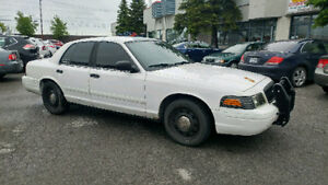 2008 Ford Crown Victoria p71 police pack