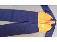 TUFFWEAR COVERALL HI VIS TWO-TONE DRILL 0905