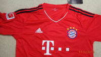 Muller Bayern Munich FCB Home Soccer Jersey 15/16 current season