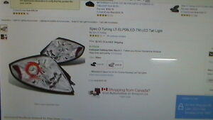 Spec D Tuning Mitsubishi Aftermarket Tail Lights Kitchener / Waterloo Kitchener Area image 1