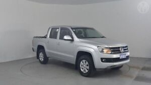 2011 Volkswagen Amarok 2H TDI400 Trendline (4x4) Reflex Silver 6 Speed Manual Dual Cab Utility Perth Airport Belmont Area Preview