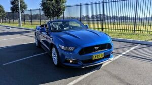 2017 Ford Mustang FM 2017MY GT Blue Sports Automatic Convertible Lansvale Liverpool Area Preview