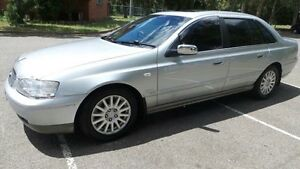2005 Ford Fairlane BA Ghia Silver 4 Speed Automatic Sedan Granville Parramatta Area Preview