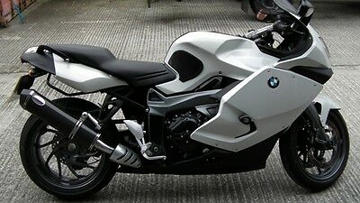 BMW K1300S 2009- Carbon oval carbon outlet Road Legal Motorbike Exhaust Can for sale  Shipping to United States