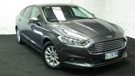 2015 Ford Mondeo MD Ambiente SelectShift Grey 6 Speed Sports Automatic Hatchback Derwent Park Glenorchy Area Preview