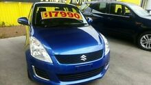 2009 Suzuki Swift  Blue Automatic Hatchback Dandenong Greater Dandenong Preview