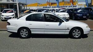 2000 Holden Commodore VT II Executive White 4 Speed Automatic Sedan Victoria Park Victoria Park Area Preview