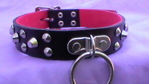 15-18-lockable-studded-collar-with-o-ring-black-real-leather