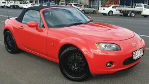 2006 Mazda MX-5 NC30F1 MY07 Touring Red 6 Speed Sports Automatic Softtop Bungalow Cairns City Preview
