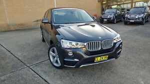 2014 BMW X4 F26 xDrive 20I Grey 8 Speed Automatic Coupe Belconnen Belconnen Area Preview