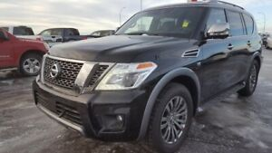 2018 Nissan Armada AWD PLATINUM RESERVE Navigation (GPS),  Leath