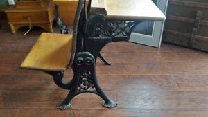 Antique school desk Kingston Kingston Area image 1