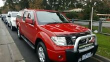 2010 Nissan Navara  Red Automatic Utility Dandenong Greater Dandenong Preview
