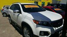 2010 Kia Sorento  White Sports Automatic Wagon Dandenong Greater Dandenong Preview