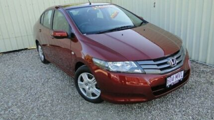 2010 Honda City GM MY10 VTi Red Manual Sedan