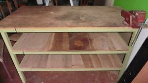workbench with vice Harristown Toowoomba City Preview