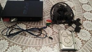 Playstation 2 modded w/ DMS3 / 120GB HDD London Ontario image 1