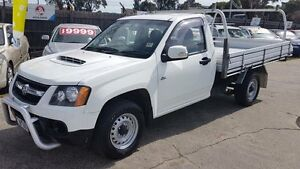 2008 Holden Colorado RC LX (4x2) White 5 Speed Manual Cab Chassis Maidstone Maribyrnong Area Preview