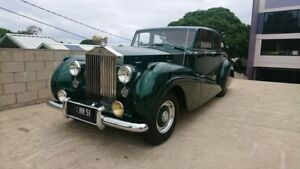 1951 Rolls-Royce Park Ward Emerald Green 4 Speed Manual Sedan Capalaba Brisbane South East Preview