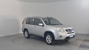 2011 Nissan X-Trail T31 Series IV ST Brilliant Silver 1 Speed Constant Variable Wagon Perth Airport Belmont Area Preview