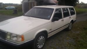 CLASSIC 1992 VOLVO 960 WAGON,LAST OF THE RWD