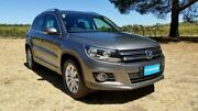 2014 Volkswagen Tiguan 5N MY15 130TDI DSG 4MOTION Pepper Grey 7 Speed Sports Automatic Dual Clutch Tanunda Barossa Area Preview