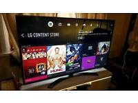 """LG 55"""" Ultra HD 4K Smart TV webOS Carbon Titan !! UNDER 1 YEAR OLD!!! BOXED. DELIVERY!!!!!"""