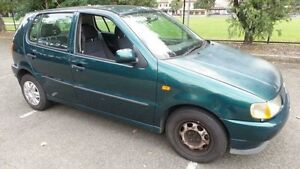 1997 Volkswagen Polo Green 4 Speed Automatic Hatchback Granville Parramatta Area Preview