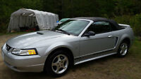 2000 Ford Mustang Convertible & A Parts Car