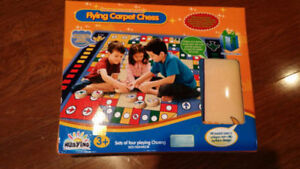 Kids Flying Carpet/ Aeroplane chess set