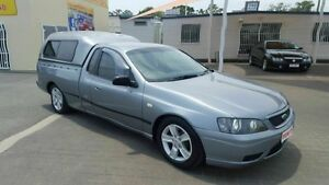 2006 Ford Falcon BF XL SE Grey 5 Speed Manual Utility Coopers Plains Brisbane South West Preview