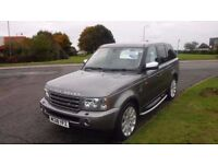 Land Rover Range Rover Sport 2.7TD Auto,2008,HSE,Cream Leather,Sat Nav,Air Con