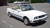 1987 BMW 3-Series Cuir tan Cabriolet