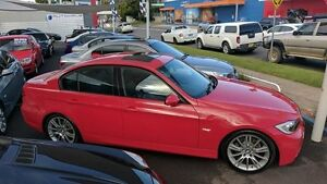 2006 BMW 320i E90 M Sport Red 6 Speed Automatic Sedan Batemans Bay Eurobodalla Area Preview