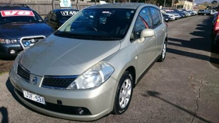 2006 Nissan Tiida C11 ST Gold 6 Speed Manual Hatchback Maidstone Maribyrnong Area Preview