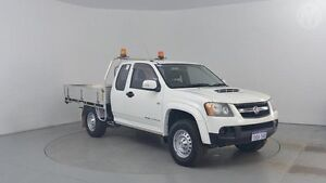2011 Holden Colorado RC MY11 LX Space Cab Alpine White 5 Speed Manual Utility Perth Airport Belmont Area Preview