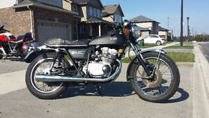 Classic Yamaha xs 500 in great condition! Low km Cafe