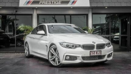 2016 BMW 420i F32 MY15 Sport Line White 8 Speed Automatic Coupe Bowen Hills Brisbane North East Preview
