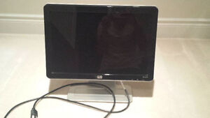 HP LCD FLAT PANEL MONITOR WIDESCREEN with INTEGRATED SPEAKERS