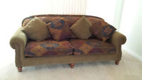 Sofa and 2 Side Sofa Chairs --very good condition