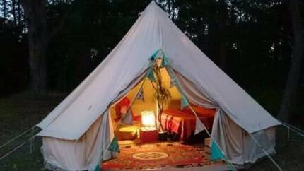 """5m Bell Tent .. """"FREE SHIPPING!!"""" Camping in Style!! Brisbane City Brisbane North West Preview"""