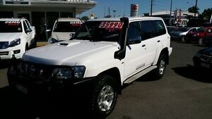 2011 Nissan Patrol GU 7 MY10 ST White 4 Speed Automatic Wagon Alexandra Headland Maroochydore Area Preview