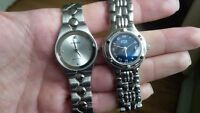 Fossil and ESQ ladies watches, needs batteries