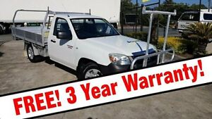 2009 Mazda BT-50 UN DX White 5 Speed Manual Cab Chassis Acacia Ridge Brisbane South West Preview